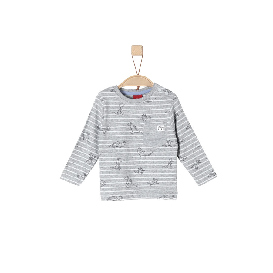 s.Oliver Långärmad tröja grey