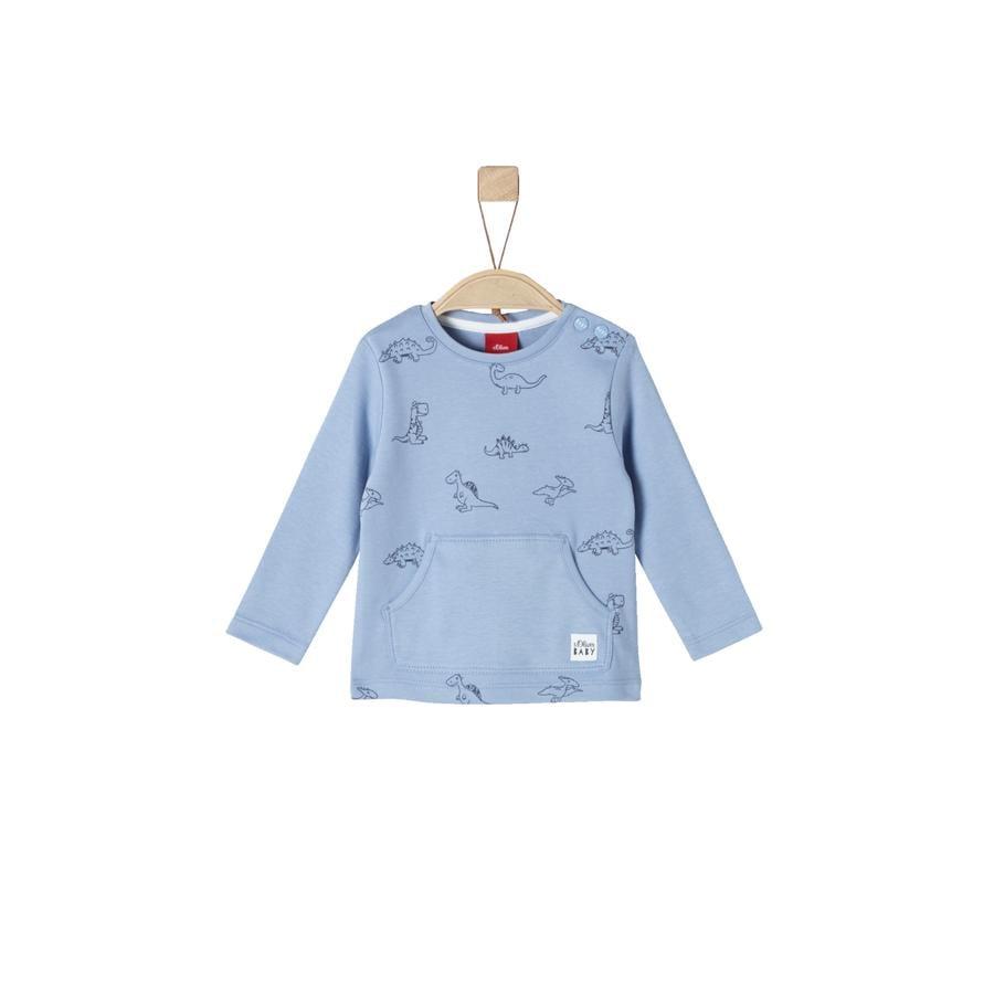 s.Oliver Boys langermet skjorte blå