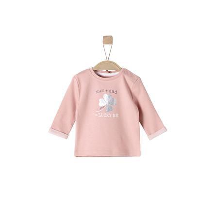s.Oliver Girl koszula z długim rękawem, zakurzony różowy.