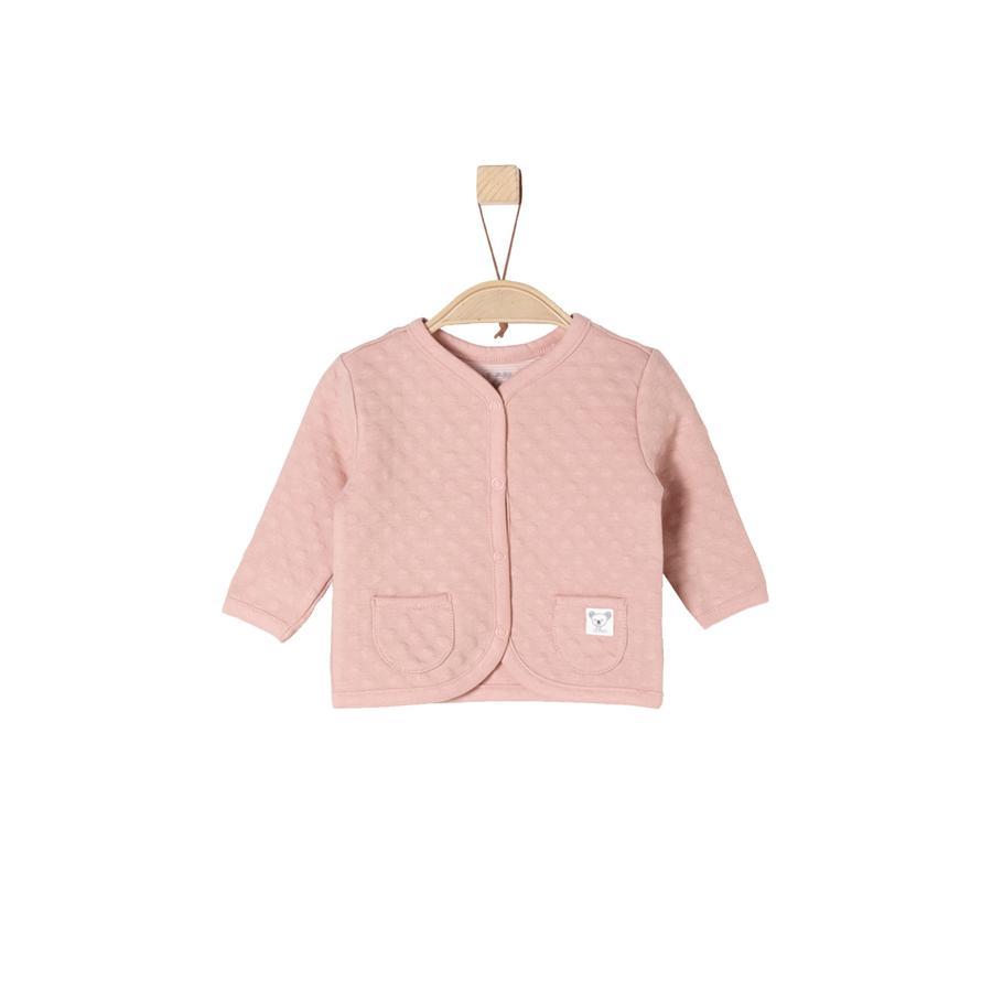 s.Oliver Girl s Veste de survêtement rose poussiéreux