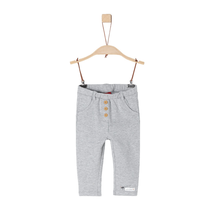 s.Oliver Girls Leggings light grey melange
