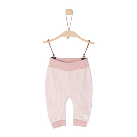 s.Oliver Girls Sweathose dusty pink stripes
