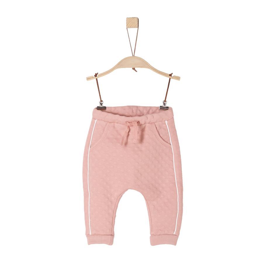 s.Oliver Girl s Pantalon de survêtement rose poussiéreux