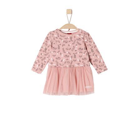 s.Oliver Girl Sukienka z tiulową spódnicą w kolorze różowym.