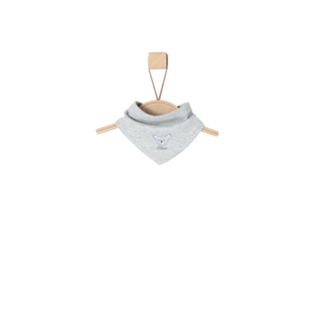 s.Oliver šátek grey melange stripes