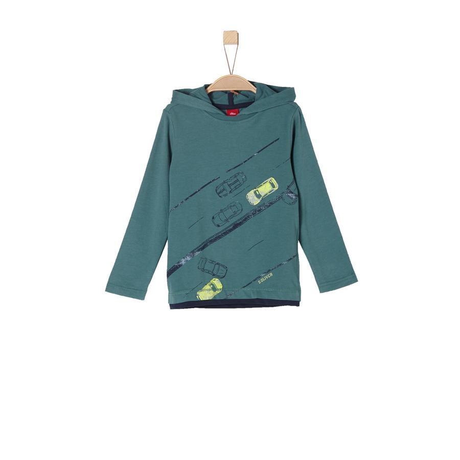 s.Oliver Boys Langarmshirt blue green