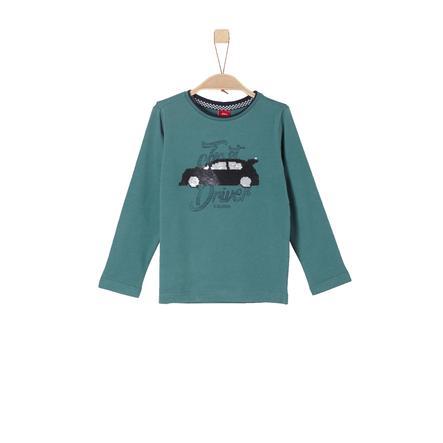 s.Oliver Långärmad tröja blue green