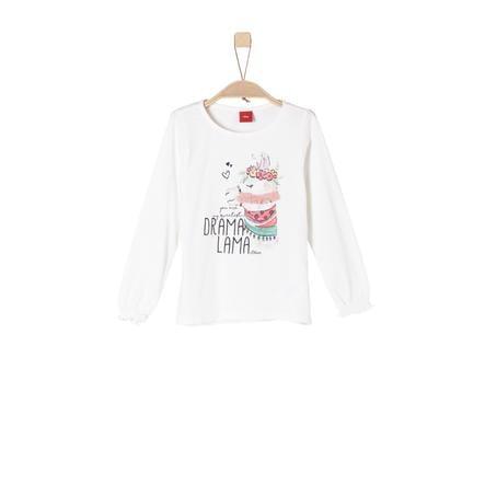 s.Oliver Girls Langermet skjorte ecru