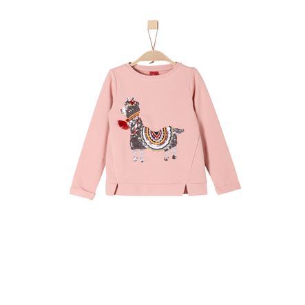 s.Oliver Girls Sweatshirt dusty pink