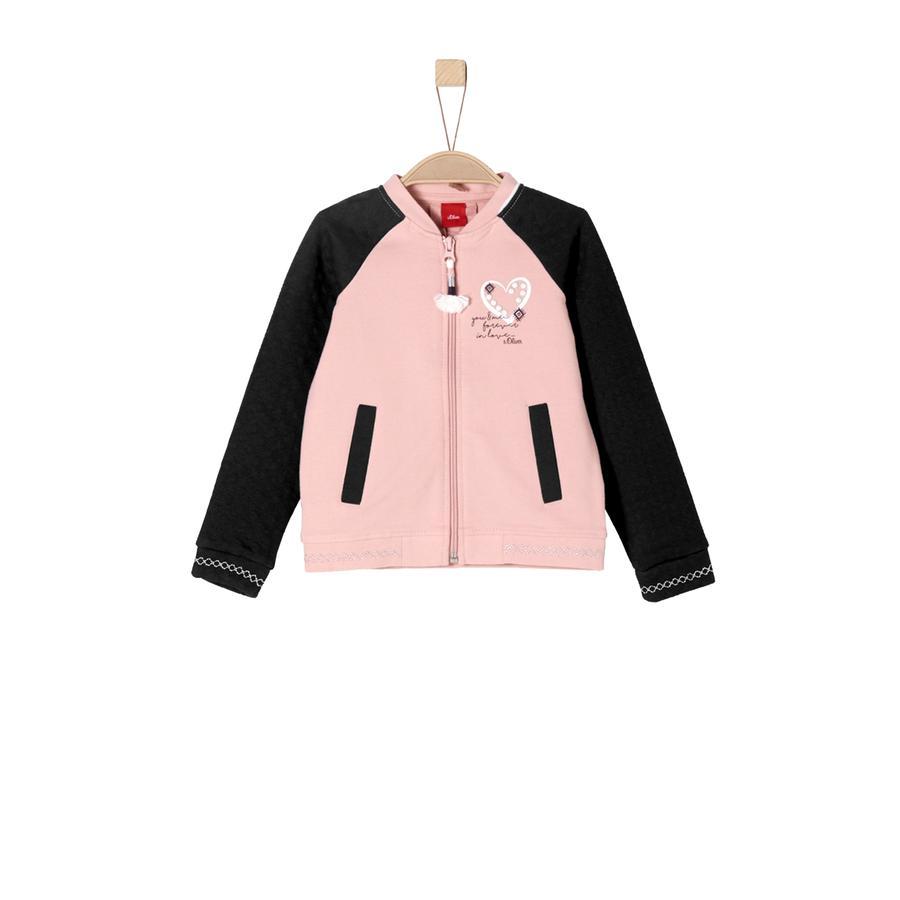s.Oliver Girls Sweatjacke dusty pink
