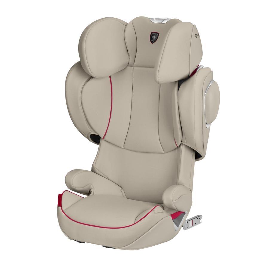 cybex PLATINUM Kindersitz Solution Z-fix Scuderia Ferrari Silver Grey