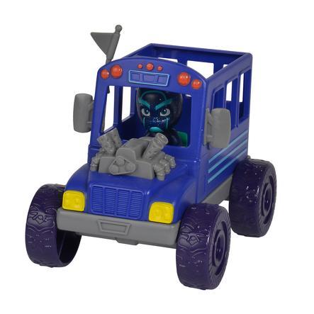 Simba Pidżamersi Figurka Ninja z autobusem