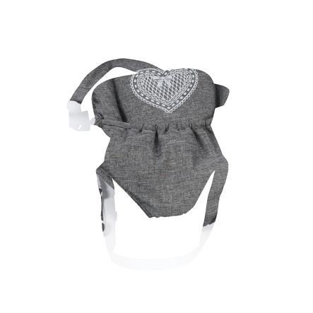 BAYER CHIC 2000 Porte-bébé poupée jeans gris