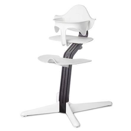 nomi by evomove Jídelní židlička Oak Black/White