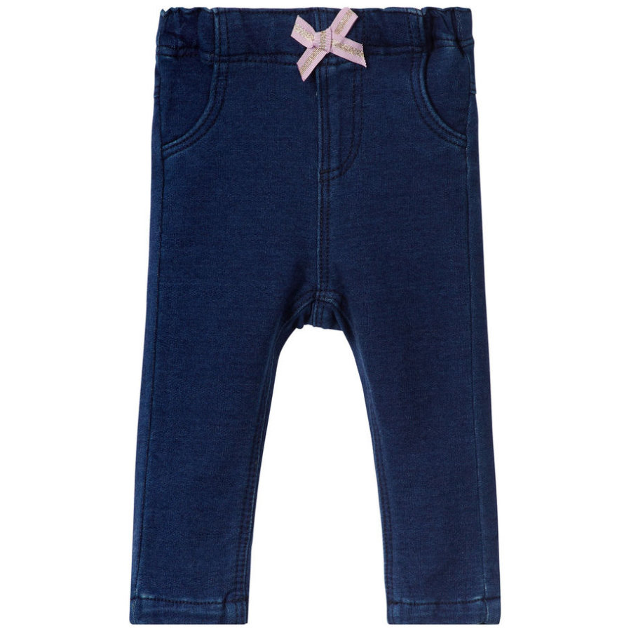 name it Girl s Jeans Thea Barbel, ciemnoniebieski denim.