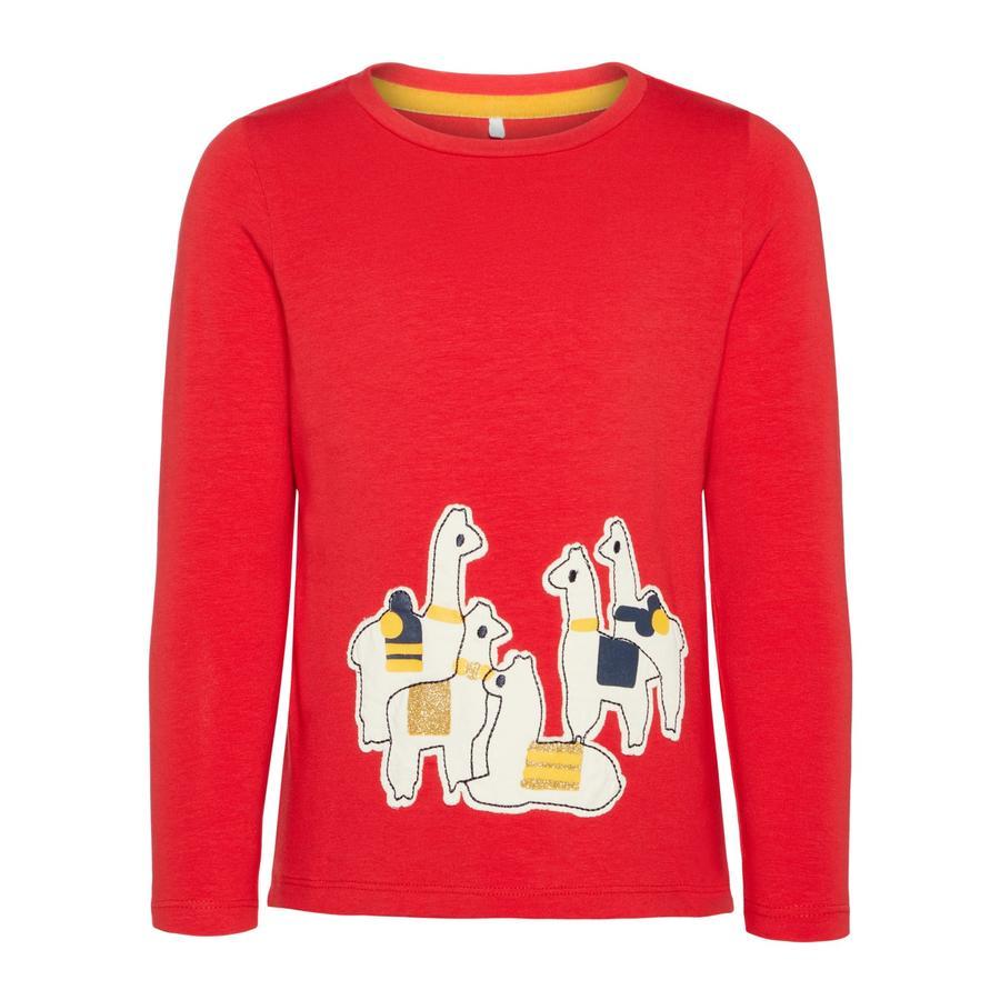 name it Långärmad skjorta Latilly true red