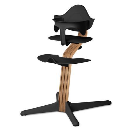 nomi by evomove Jídelní židlička Oak Natur Oil/Black