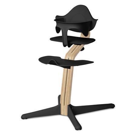 nomi by evomove Jídelní židlička Oak White Oil/Black