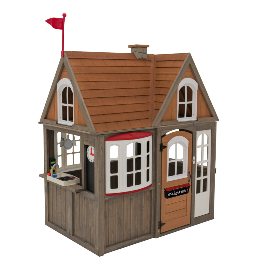 Kidkraft® Maisonnette enfant Cedar Greystone cottage, bois