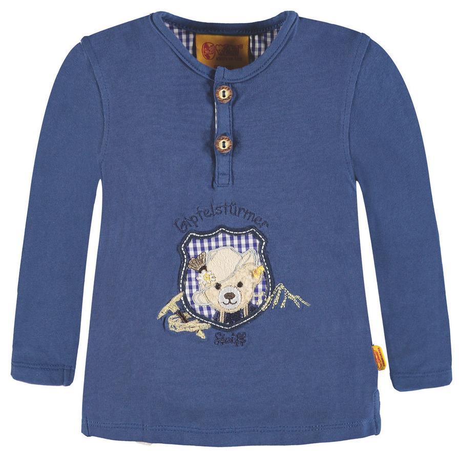 Steiff Boys Langarmshirt, blau