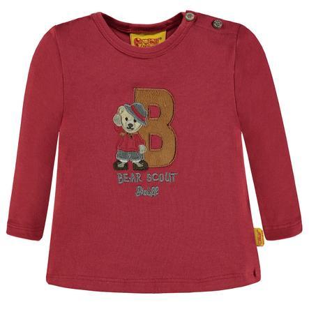 Steiff Boys Shirt met lange mouwen, rood