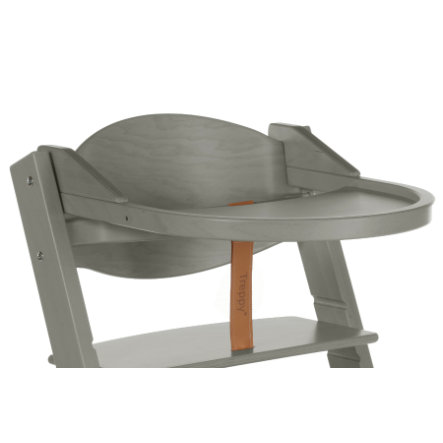Treppy® Tablette pour chaise haute, woody gray