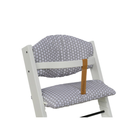 Treppy® Coussin d'assise pour chaise haute grandes étoiles