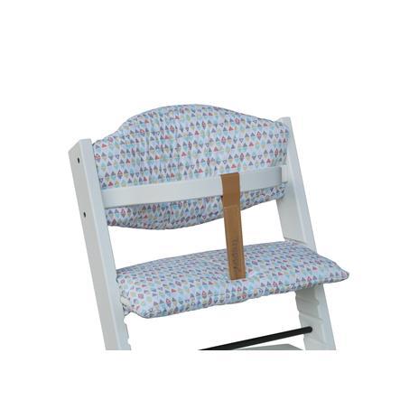 Treppy-istuinvärinen tyyny, kolmio