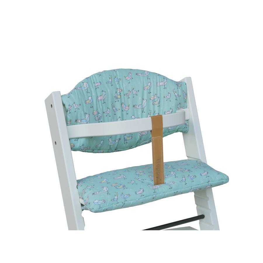 Treppy Cuscino di seduta Green Bird