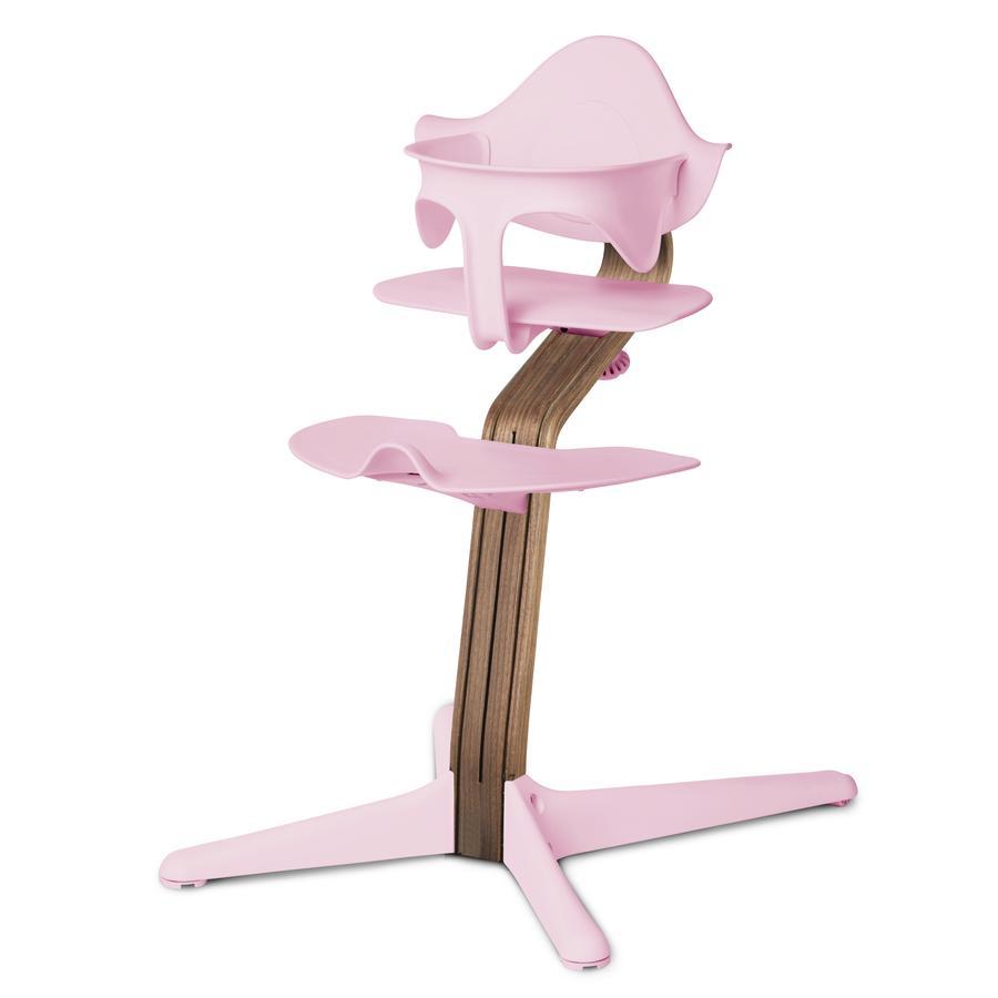 nomi antes de evo move  Silla alta de nogal con núcleo de nogal, aceitado natural/ pink