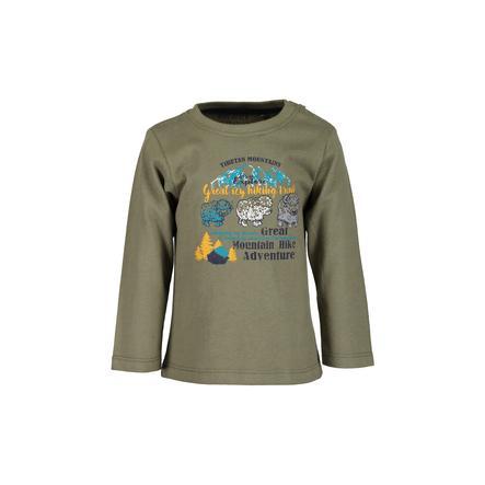 BLUE SEVEN Poikien pitkähihainen paita Khaki