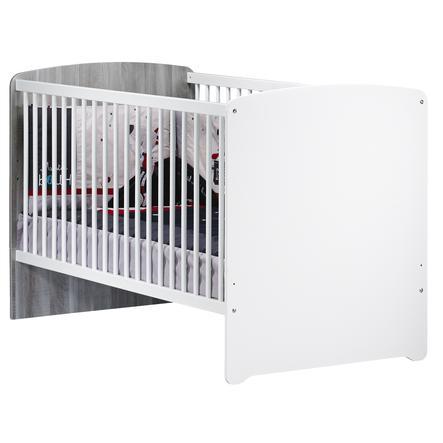 Baby Price Lit bébé combiné évolutif New Nao, 70 x 140 cm
