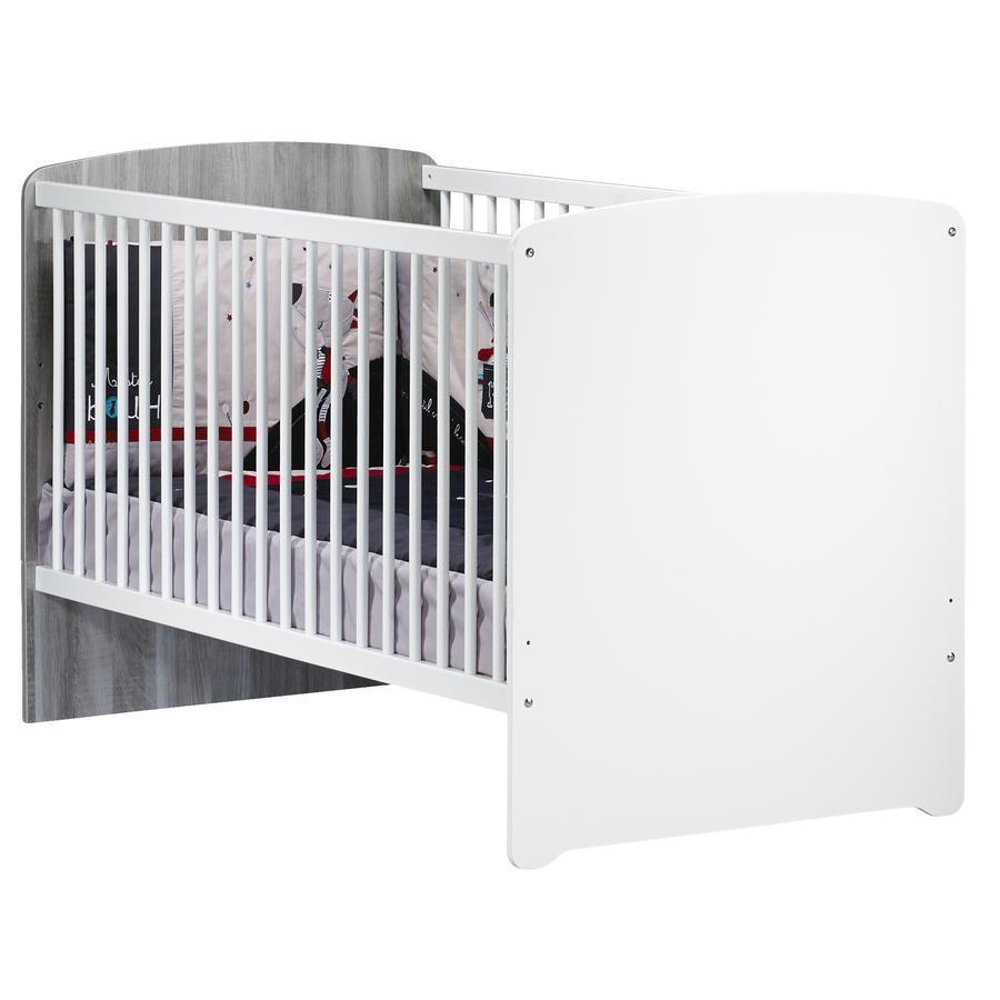 Baby Price Lit bébé évolutif New Nao 70x140 cm