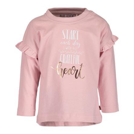 BLUE SEVEN Girl s Camisa de manga larga rosa