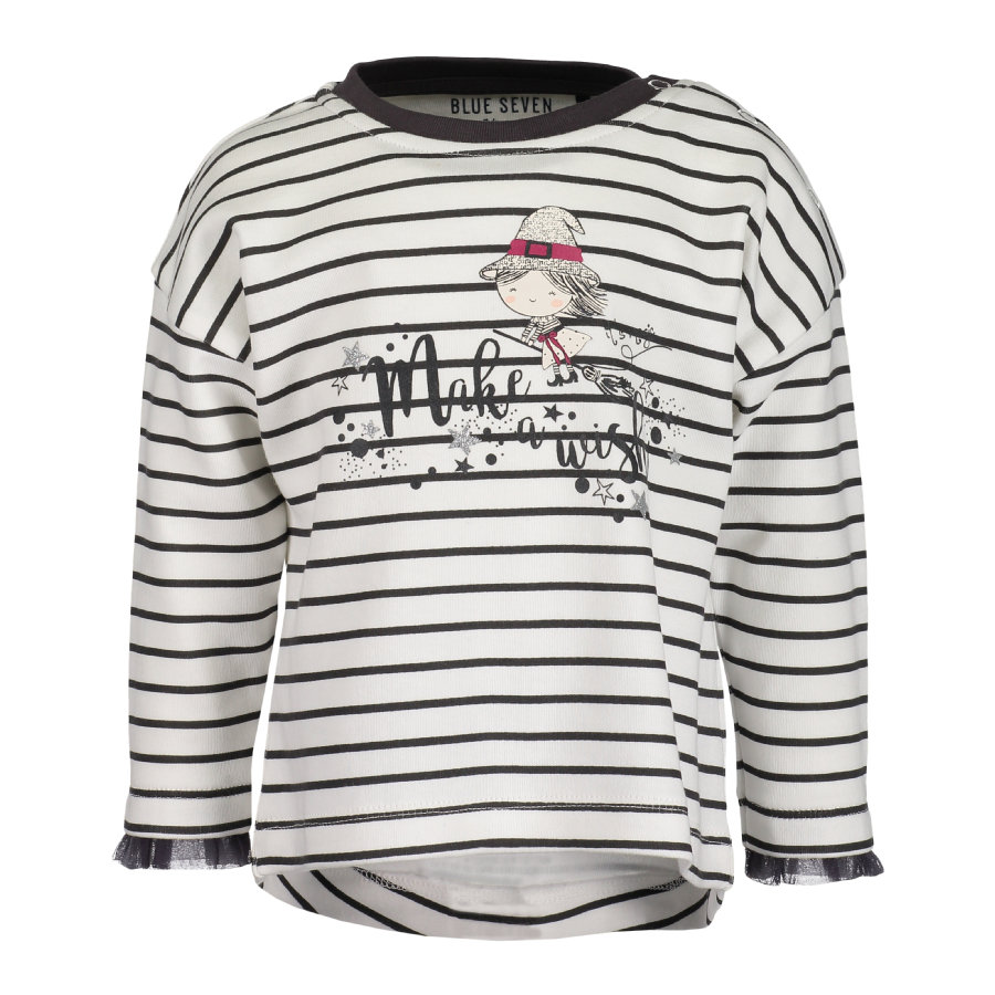 BLUE SEVEN Girls Sweatshirt offwhite