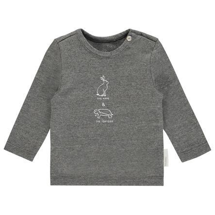 noppies Koszulka z długim rękawem z tasiemki Dark Grey Melange