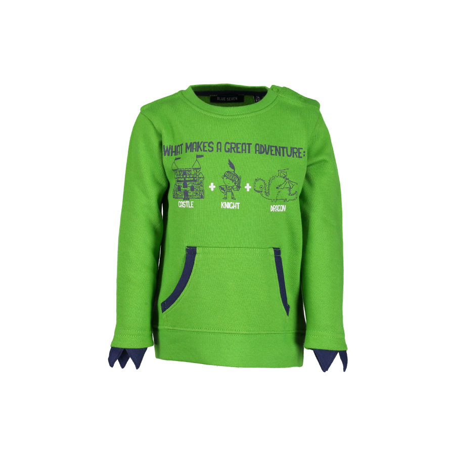 BLUE SEVEN Boys Sweat-shirt pomme vert pomme