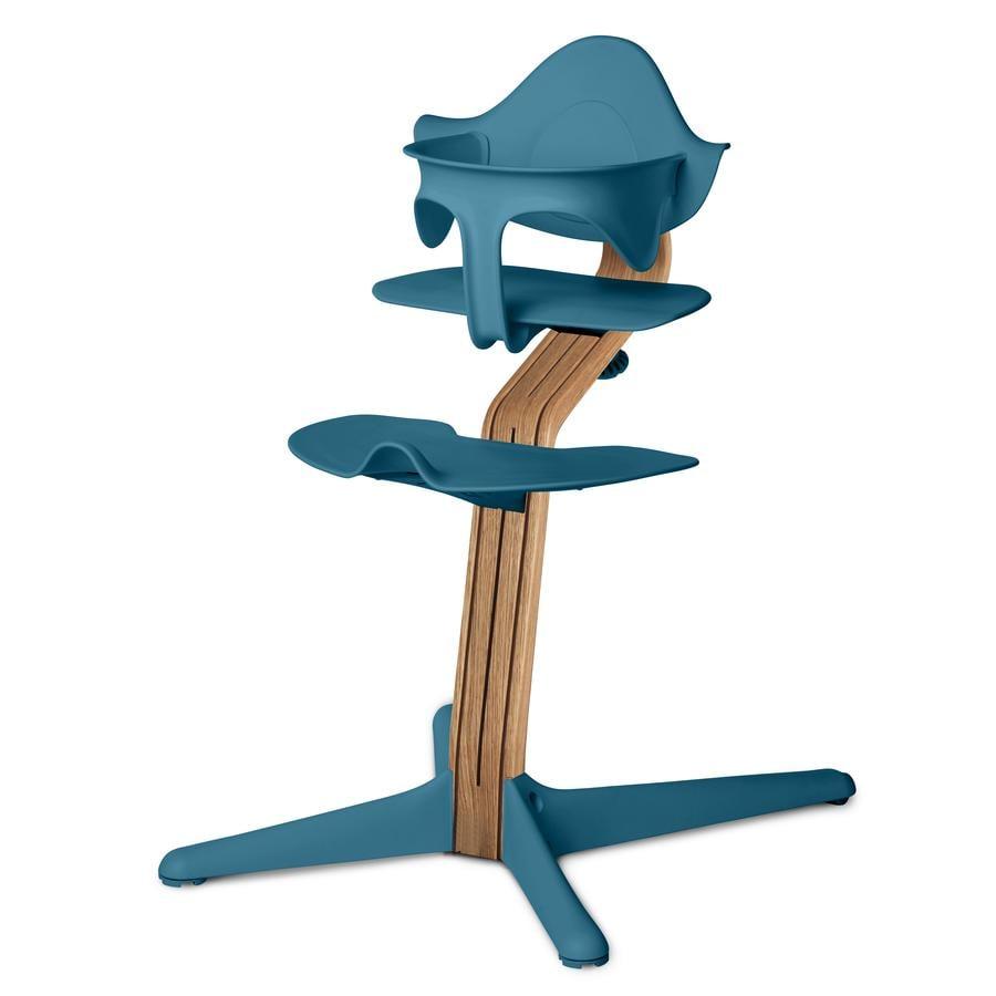 nomi by evomove Jídelní židlička Dub s bukovými jádry Natur Oil/Ocean
