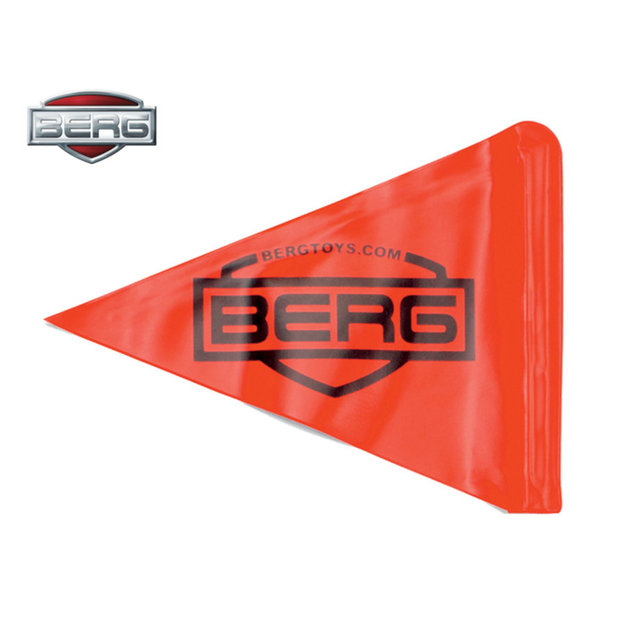 BERG Toys Fanion pour kart à pédales orange