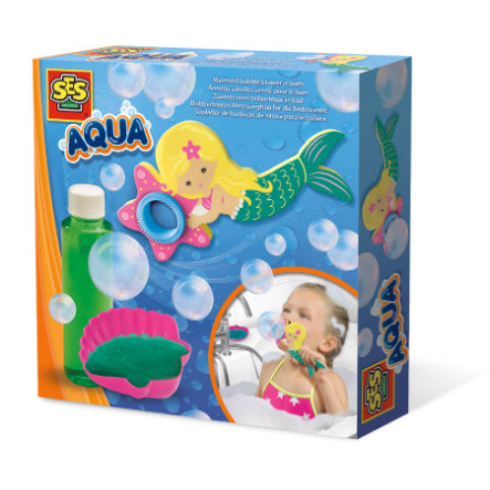 SES Creative® AQUA Blubberblasen Meerjungfrau für die Badewanne