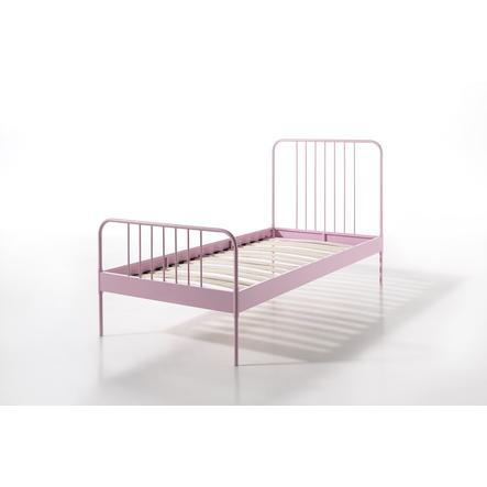 VIPACK Cama de metal Jacky rosa