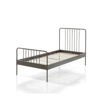 VIPACK Dětská kovová postel Jacky Gold 90 x 200 cm