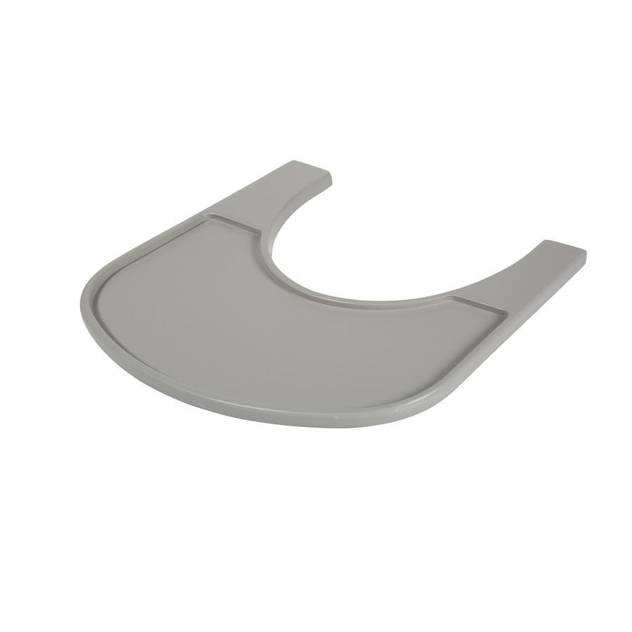 KIDSMILL Ess-und Spielbrett Up! solid grey