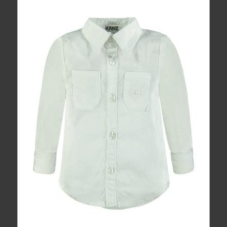 KANZ Chlapecké tričko, bílé