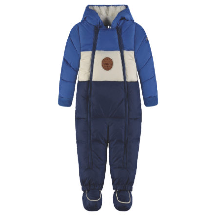 KANZ Chlapecká kombinéza s kapucí, modrá