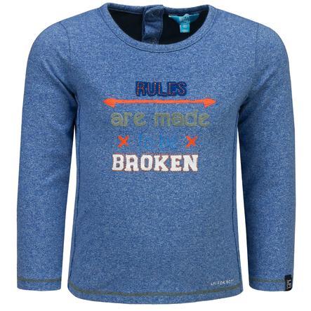 Rennen! Boys Shirt met lange mouwen, blauw