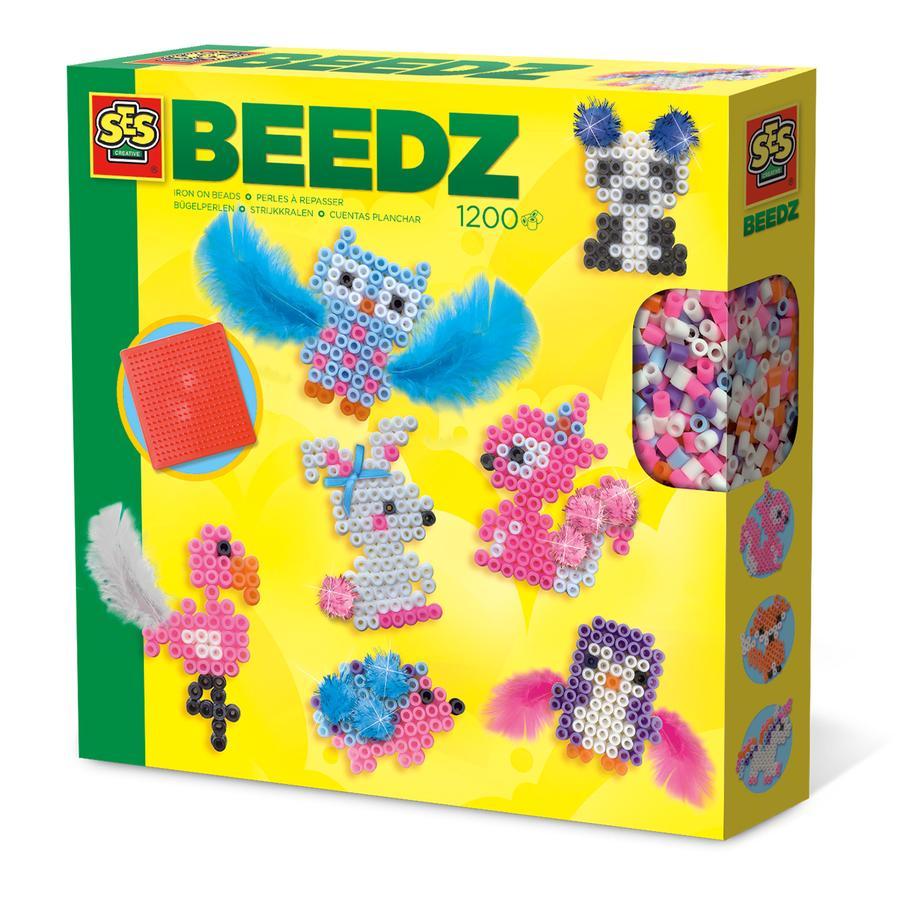 SES Creative® BEEDZ Bügelperlen Süße Tiere