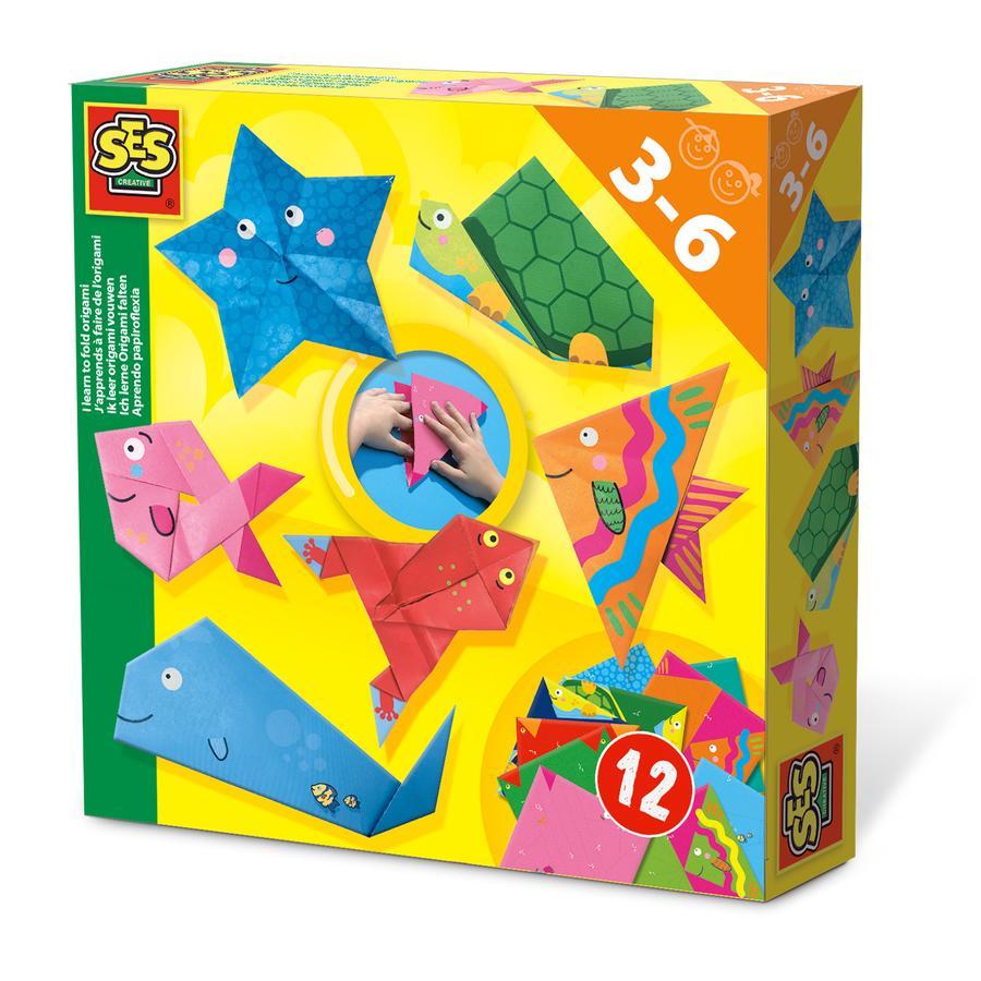 SES Creative® Ich lerne Origami falten