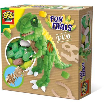 SES Creative® Funmais Dino met houten skelet