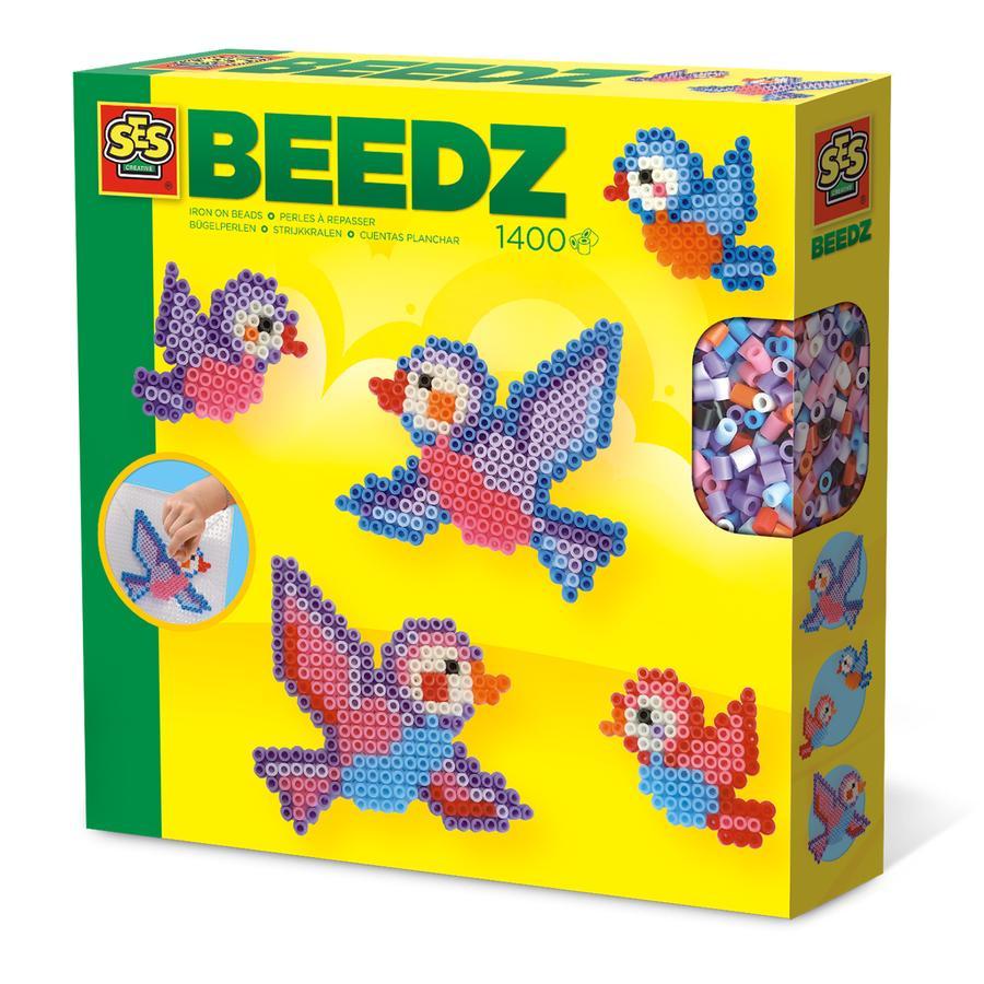 SES Creative® BEEDZ Bügelperlen Vögel